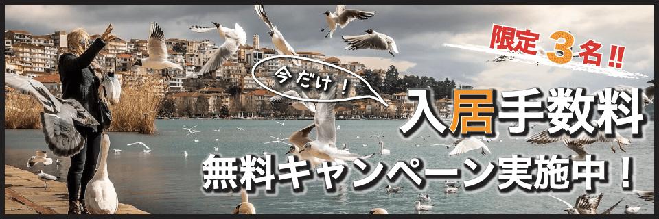 2020新春入居手数料無料キャンペーン