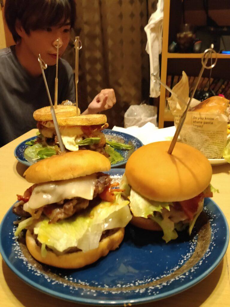 ハンバーガー選手権